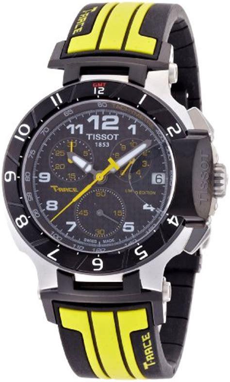 Terlaris Tissot T Race Black Rubber Hobi Outdoor Adventure Pe Tissot T Race Moto Gp Chronograph Mens