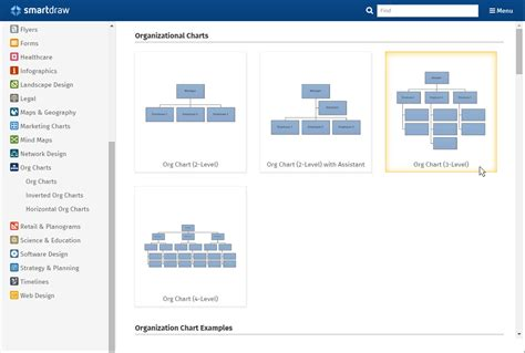 easy org chart creator org chart software create organization charts free