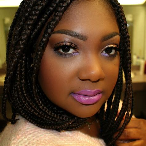 cornrows in front and short box braids extra cool short box braids hairstyles 2017 hair colors