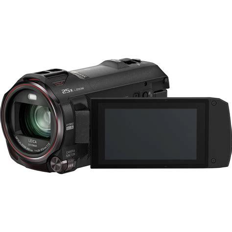 panasonic 4k panasonic hc vx870k 4k ultra hd camcorder hc vx870k b h photo