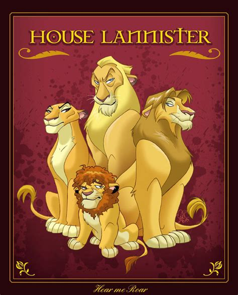 house lannister house lannister lion king edition weknowmemes