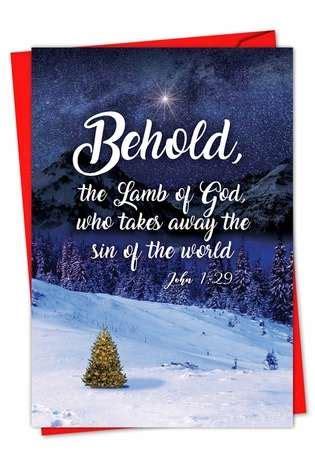 christmas quotes john  stylish christmas card