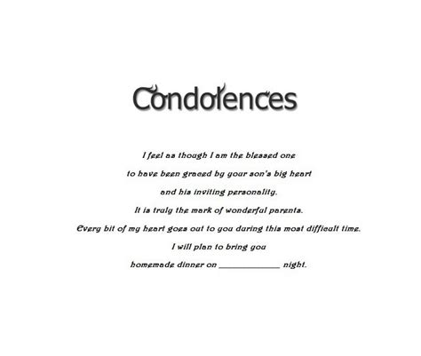 Invitation Letter For Condolence Meeting Child Condolences Cards 4 Wording Free Geographics Word Templates