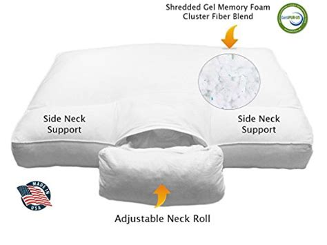 Best Pillow Neck Reviews by Custom Sleeping Adjustable Neck Support Cervical Pillow