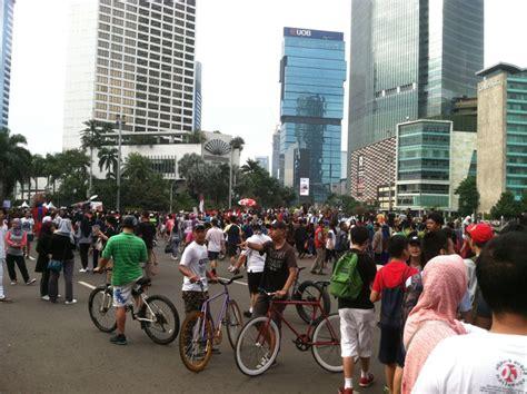 Jakarta Car Free Day empat anak hilang di arena car free day jakarta okezone news