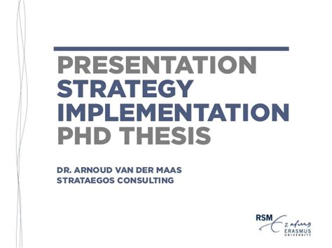 phd no dissertation presentation phd thesis strategy implementation