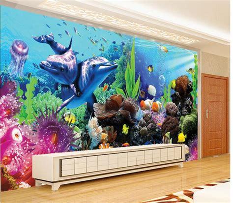 aquarium wall mural comparar pre 231 os de aquarium wall mural compras on line