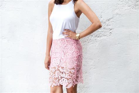 diy lace pencil skirt a pair a spare