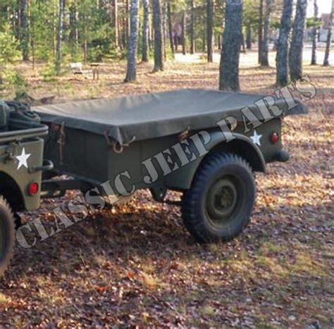 bantam jeep trailer trailer tarp willys mbt bantam t3
