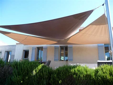 Terrasse Voile D Ombrage by Voile D Ombrage Tendance Marine