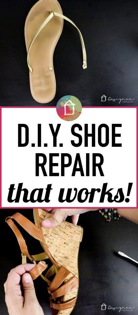 shoe repair diy diy shoe repair it s cheap and easy designer trapped