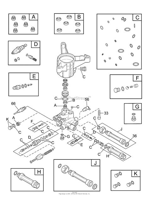 briggs and stratton pressure washer parts diagram briggs and stratton power products 020503 00 3 000 psi