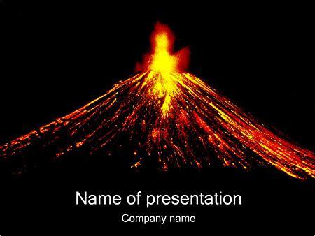Volcano Powerpoint Template Potlatchcorp Info Volcano Powerpoint Template