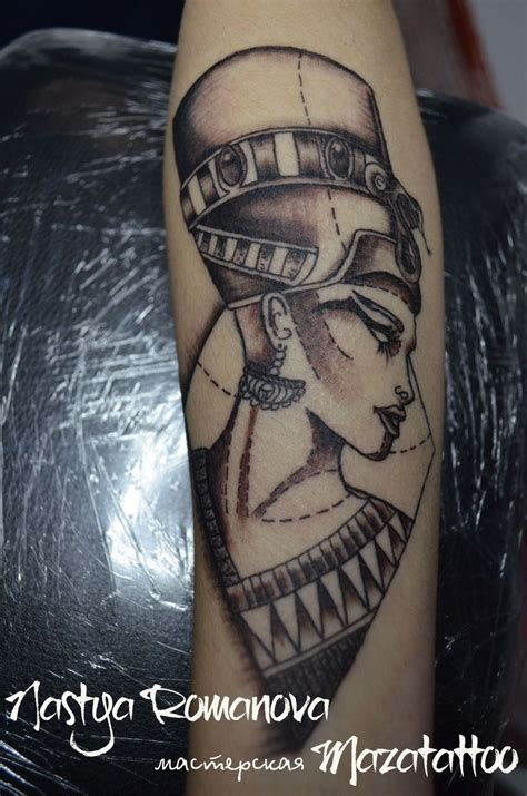 nefertiti tattoo nefertiti портрет маска лицо восток