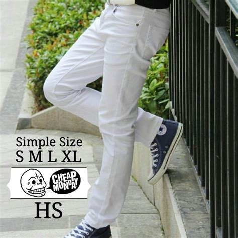 Harga Celana Merk Cheap Monday jual celana putih celana pria levis cheapmonday