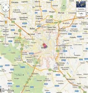 Milan Italy Map by Milan Italy Street Map