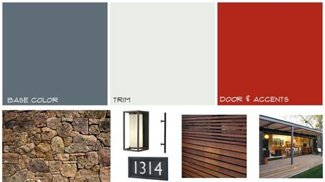 modern color schemes 1000 images about mid century modern exterior on