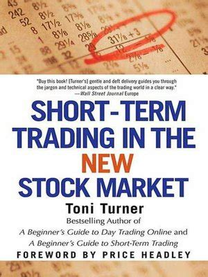 Ebook The Trader Book Of Volume term trading in the new stock market by toni turner