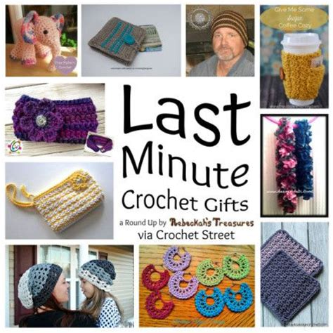 10 last minute gifts free crochet patterns for craft fair