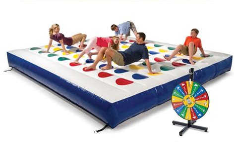 inflatable twister the giant twister game