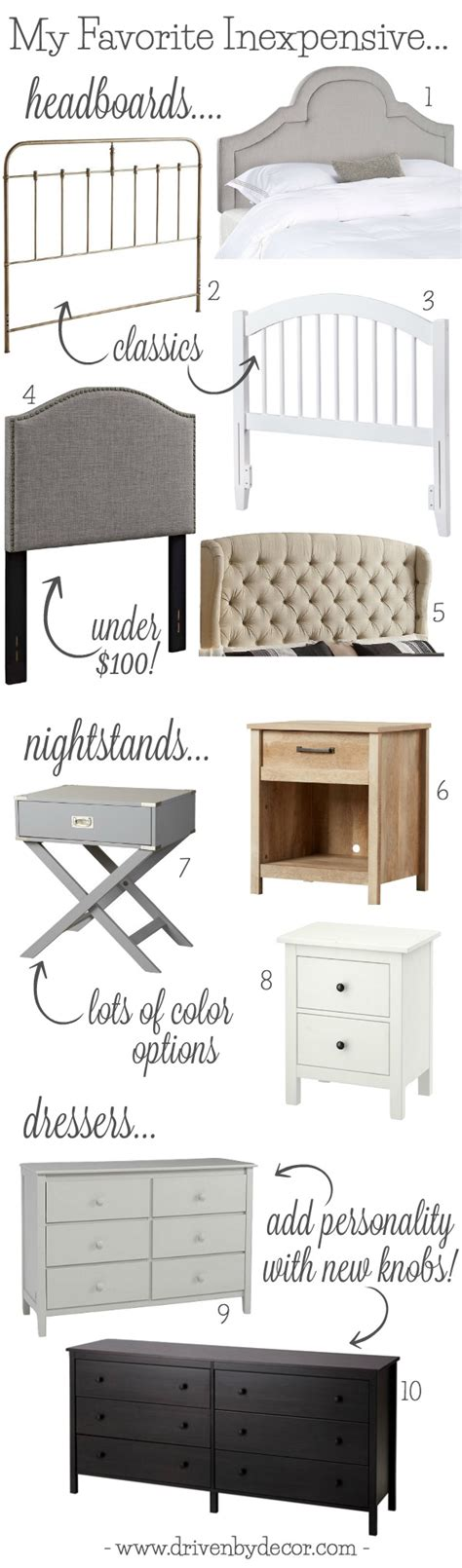inexpensive bedroom dressers the best inexpensive headboards nightstands dressers