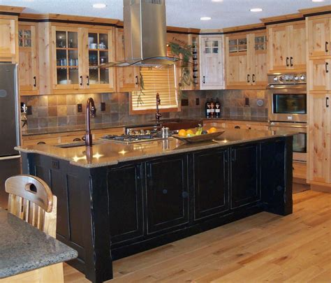 Modern Wooden Kitchen Cabinets Plus Chrome Metal Chimney
