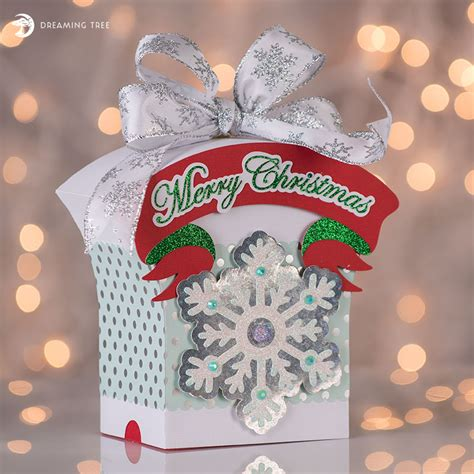 holiday gift boxes svg bundle dreaming tree