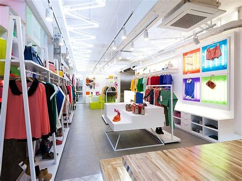 shop interior designer spice fashion colorful shop interior design