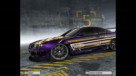 need for speed pro best cars need for speed prostreet customized cars 2