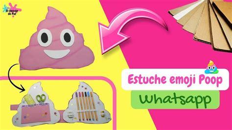 imagenes de utiles escolares de foami estuche de emojis diy f 225 ciles para el regreso de las