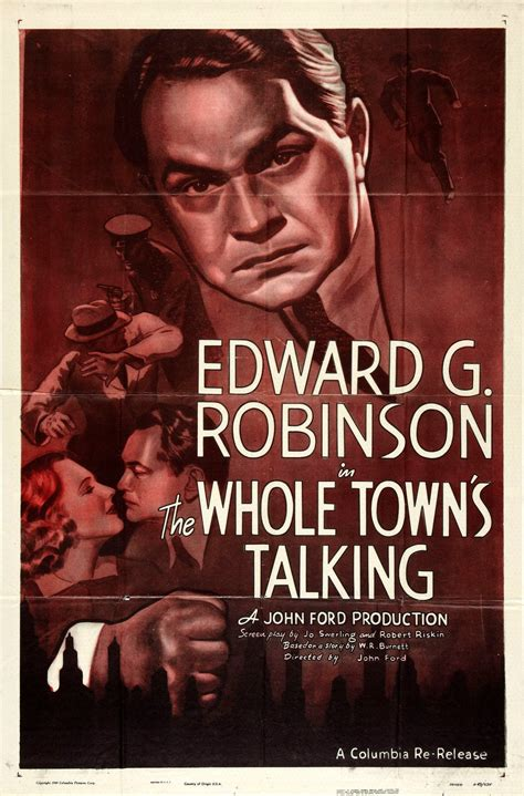 the whole town s talking a novel books the whole town s talking 1935 the motion pictures