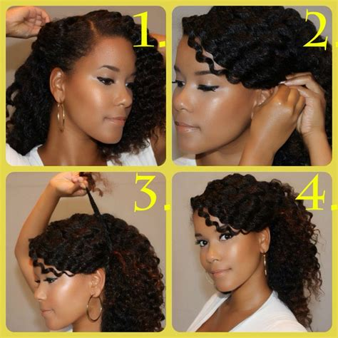diy hairstyles for short african american hair natural hair diy 5 back to school inspired styles the