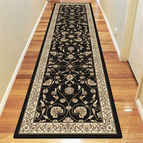 Black Runner Rugs by 608 Black Runner Rug 1 Accentrugs Rugs