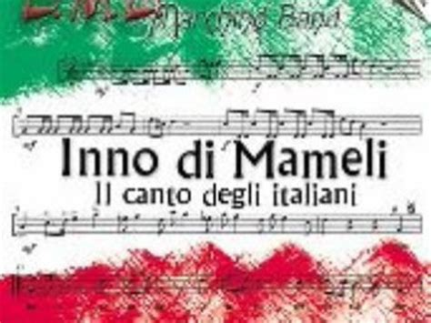 inno nazionale italiano testo inno nazionale