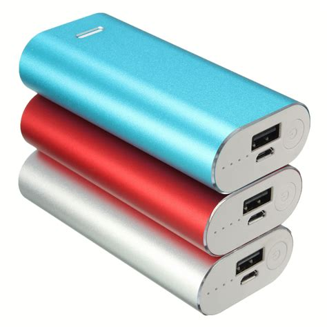 Usb Power Bank universal portable safety usb diy power bank box 2x 18650 battery charger kits for iphone