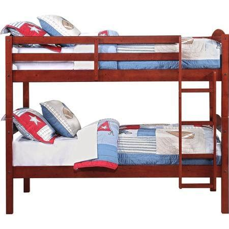 mainstays bunk bed product reviews buy mainstays twin over twin wood bunk