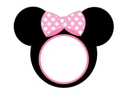 minnie mouse template free pink minnie mouse birthday printables catch