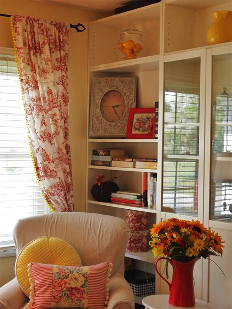 toile kitchen curtains design ideas stuff for sarah yellow and red toile curtains curtain menzilperde net
