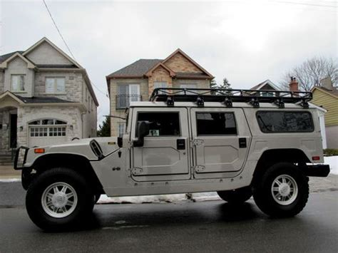 hummer h1 for sale canada sell used 2002 hummer h1 wagon in etobicoke ontario canada