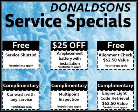 volkswagen vehicle service specials  long island ny