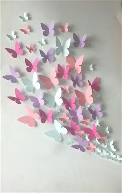 Butterflies Out Of Paper - 25 best ideas about paper butterflies on diy
