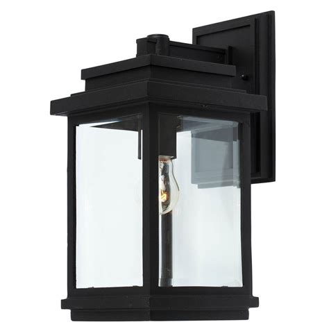 Exterior Wall Sconce Filament Design Malone 1 Light Rubbed Bronze Outdoor Sconce Cli Jb037586 The Home Depot