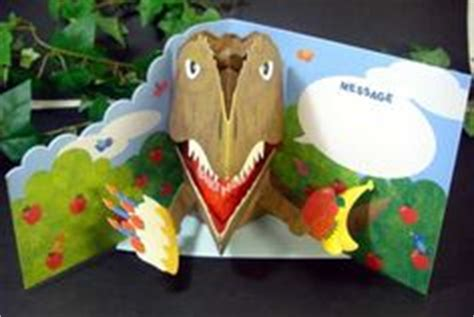 Dinosaur Pop Up Card Template by Pop Up On Pop Up Cards Pop Up And Kirigami