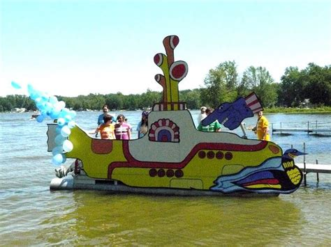 boat parade ideas family boat parade float on loon lake my design and