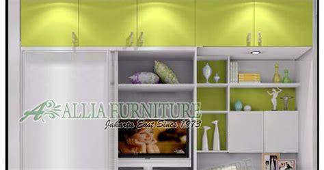 Meja Belajar Plus Lemari lemari minimalis tv meja belajar ben allia furniture