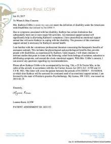 Emotional Support Animal Letter Template by Letter For Emotional Support Best Business Template