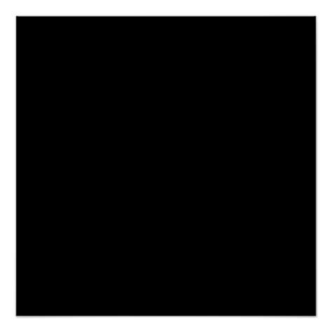 black color plain pitch black background space poster zazzle