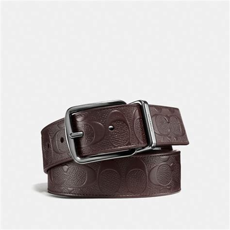 couch belts coach men s leather belts