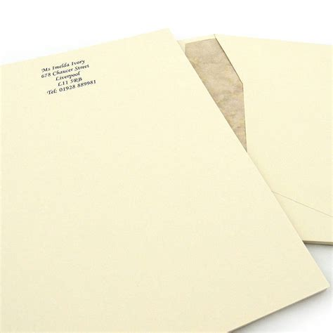 raised writing paper raised print premium writing paper by able labels