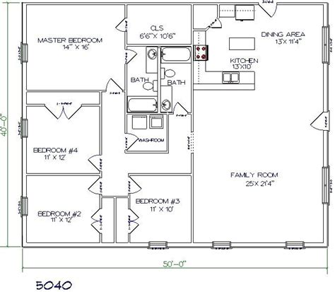 Texas Barndominium Floor Plans | pole barn plan building again pinterest house plans
